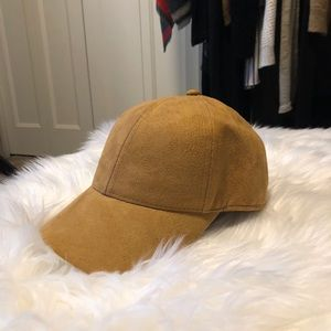 NWT H&M Mustard Tan Ball Cap